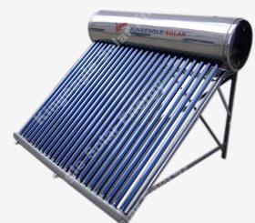non pressure solar water heater energy geyser