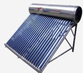 pressure solar water heater renewable energy
