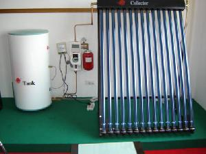 separated solar water heater vacuum tube glass collector