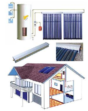 solar collector system heat pipe vacuum tube