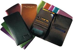 leather passport credit card holders