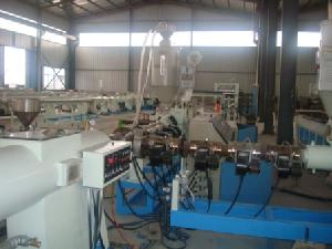 hdpe pp dual layer pipe extrusion line