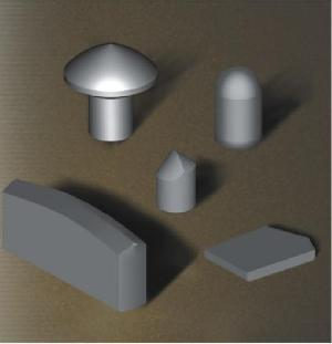 cemented carbide mining