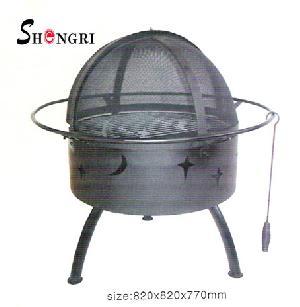 cast iron fire pit 005