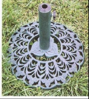 cast iron umbrella base hbs 006