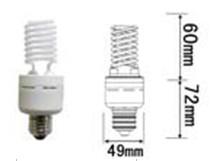 13watt 15watt dimmable ccfl light