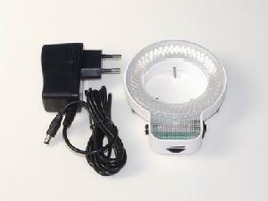 48 64 144 led microscope ring light illuminator lamp camera