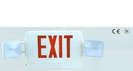 led exit sign emergency lighting