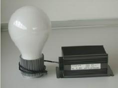 dc solar radiofluorescent lamp