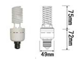Dimmable 15w Ccfl, 120v Ac E26 , Warm White 2700k, Cold Cathode Fluorescent Lamps