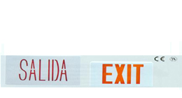 exit sign ul certified