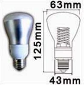 gradables réflecteur ampoule lampe ccfl vis dans les raccords