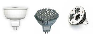 mr16 light bulb cfl led powder