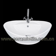counter art sink a04112