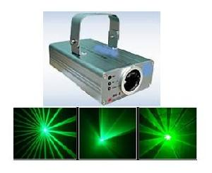 green laser light disco