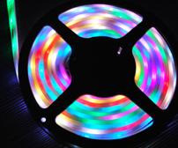 rgb digital led ribbon waterproof light