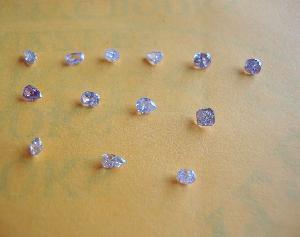 blue pink diamonds