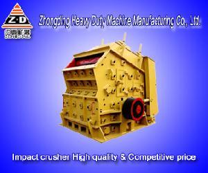 impact crusher mining