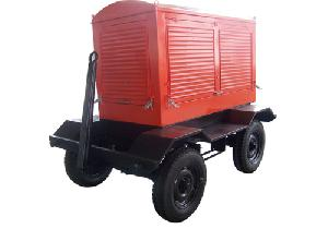 trailer mobile power station 50 800 kw