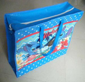 blue fish shopping bag