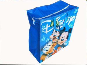 disney blue recycled pp shopping bag