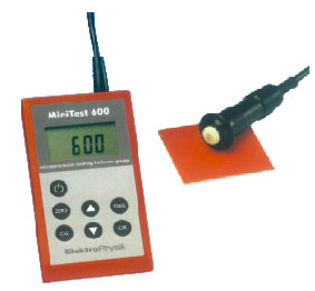 minitest 600 digital coating gauge