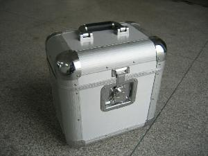 aluminium dj record case