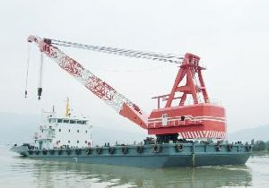 dwt 300t floating crane usd 4 100 000