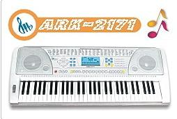 61 key electronic organ ark 2171