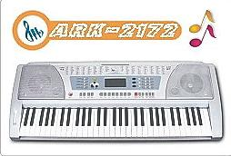 61 key electronic organ ark 2172