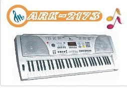 61 key electronic organ ark 2173