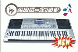 piano keyboard touch response ark 2189 61key
