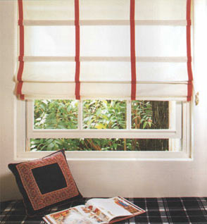 electrical roman blind