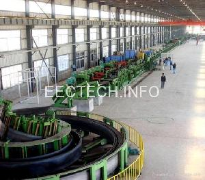 steel pipe machine tube plant