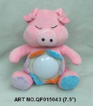 plush electronic toys qf015043 animal light lamp