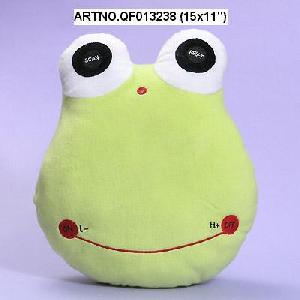 plush electronic toys qf013238 15x11 frog radio