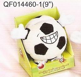 plush electronic toys qf014460 football speaker