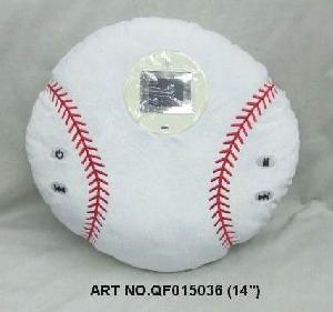 plush electronic toys qf015036 baseball mp4 photo viewer