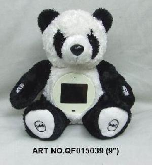 plush electronic toys qf015039 panda mp4 photo viewer