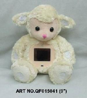 plush electronic toys qf015041 sheep mp4 photo viewer