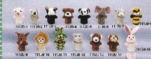 stuff toys 11120 finger puppets
