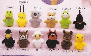 stuff toys 11670 animals finger puppet
