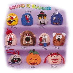 stuff toys animal sound ic slammer