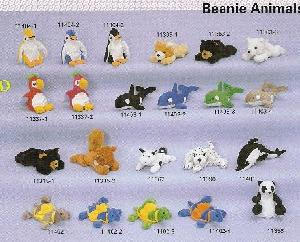 stuff toys beanie animals 1