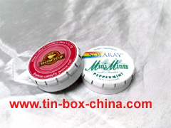 candy tin box mint