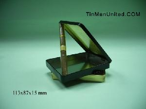 cigar tin box case