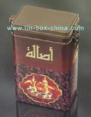 tea tin box coffee