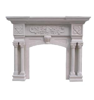manufacturer specilize granite fireplace export