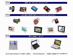lcd digital photo frame mp5 mini laptop