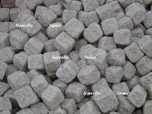 granite cube paving stone